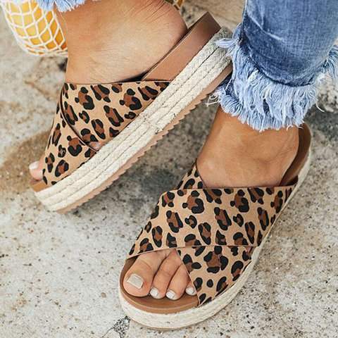 thick-soled women's Pams/sandals ,casual quality thick Wear - cover photo